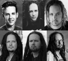 KoRn´s Jonathan Davis, pretty boy through the years.