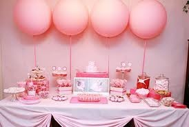 Princess party themed table
