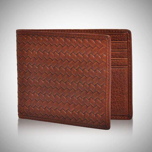 Rewards for Good: Merchandise: Tommy Bahama: Men's: Tommy Bahama: Tommy Bahama Men's Basketweave Slimfold Wallet - Brown