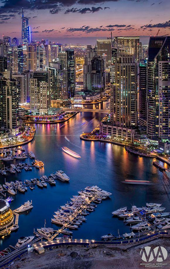 Dubai Marinaby Mohamed Alwerdany