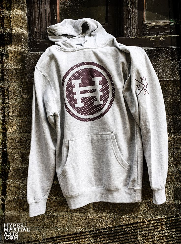 Stay warm. Look cool. Hyper Halftone Hoodie for martial arts athletes.