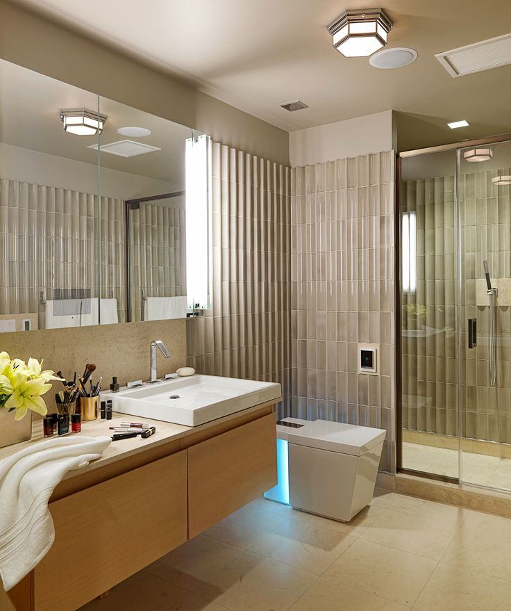 ANN SACKS Gotham 3 x 8 and 4 x 8 bamboo ceramic  17 Best images. 4 X 8 Bathroom Design