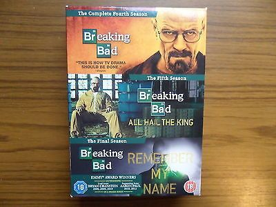 Breaking bad - ##seasons 4,5 & #final #season -  boxset - dvd,  View more on the LINK: 	http://www.zeppy.io/product/gb/2/311788360294/