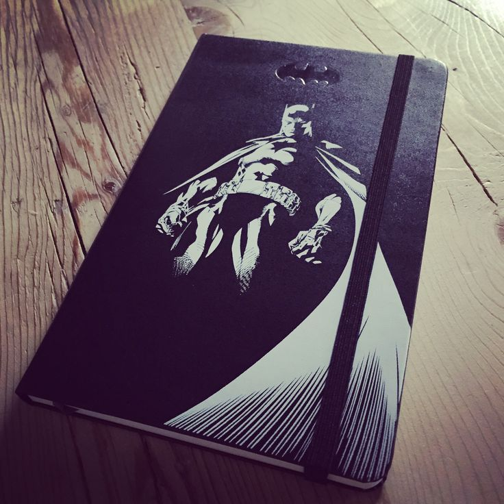#batman #batmanmoleskine #sketchbook #moleskine #moleskinelimitededition