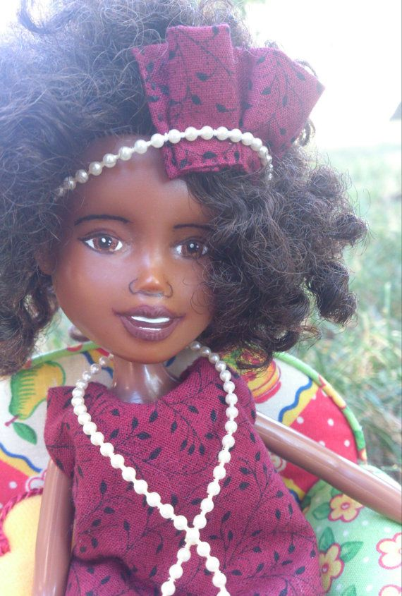 The Sleuthing Doll makeunder repaint  ooak by Mirthitude on Etsy