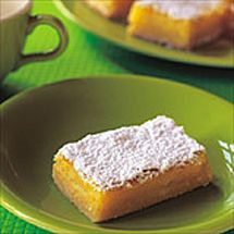 Love lemon anything!! Chelsea Lemon Slice