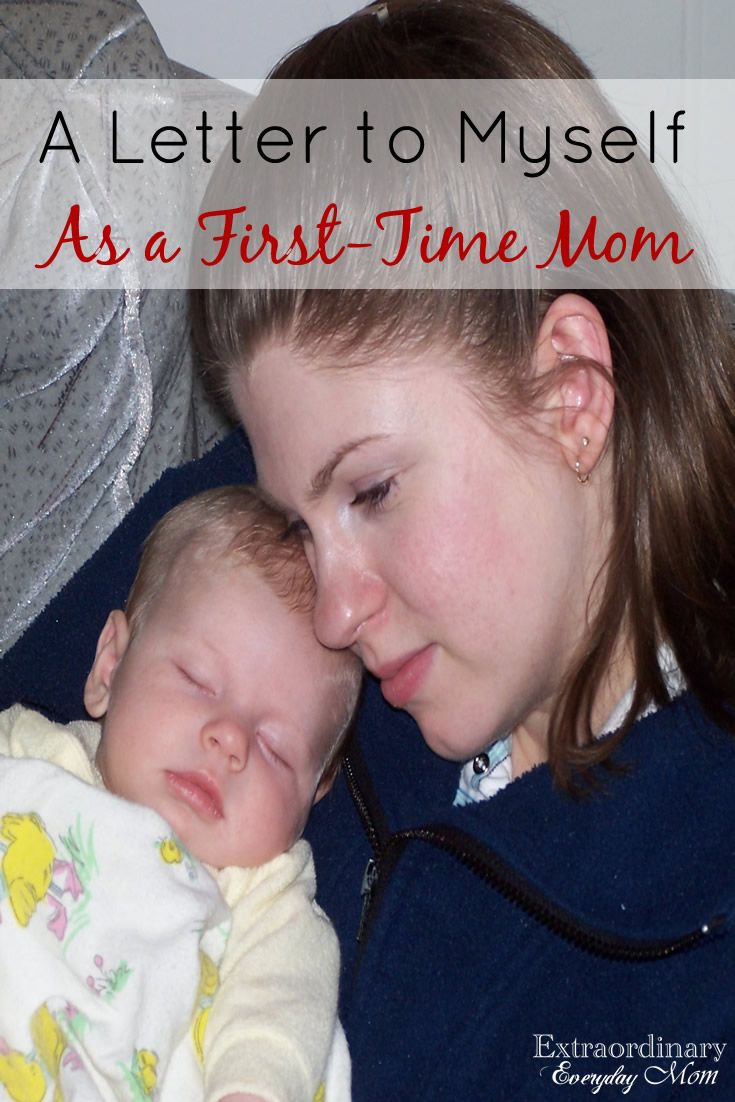 A Letter to Myself as a First-Time Mom