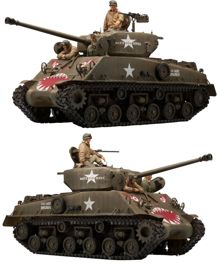 1/16 resincast model M4A3E8 (KOREAN WAR)