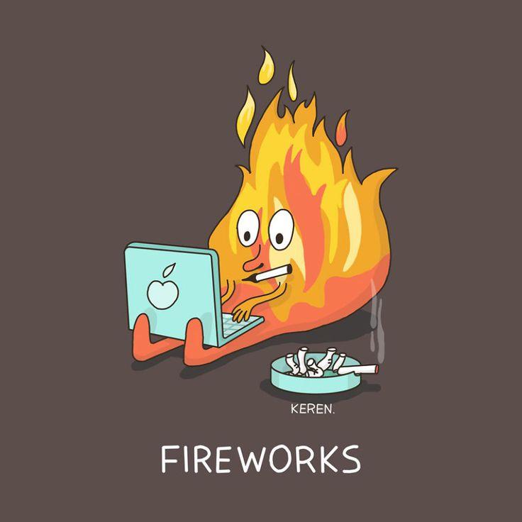 2.Fireworks