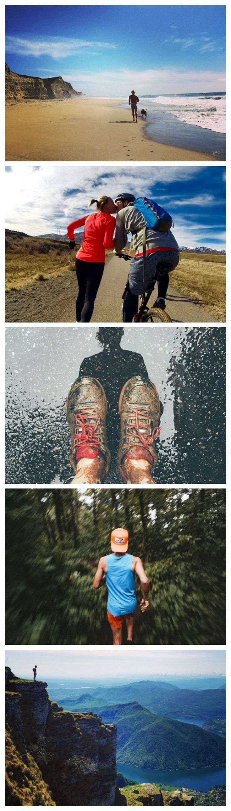 All runners need a reason to get out the door. It can be as simple as wanting to get dirty, tire out your dog, or see the best view—there's really no wrong way to get motivated.
