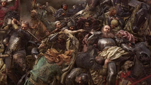 "A amazing 3D art by Platige explode our mind with Jan Matejko's ""Battle of Grunwald"""