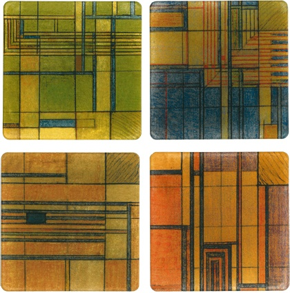 Frank Lloyd Wright designs: Graphic Design, Tile Design, Tile Frank Lloyd Wright, Design Ideas, Wright Designs Til, Wright Tile, Graphics Design, Wright Design Til, Wright Graphics