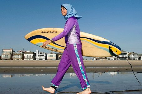 Pool Bars Muslim Woman for 'Burquini' - Atheist Nexus