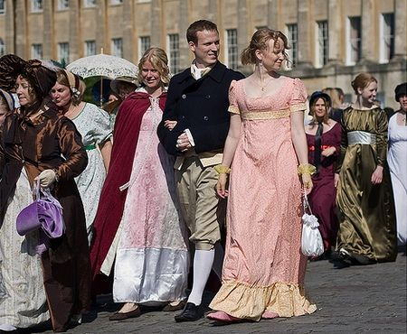 Jane Austen Festival in Bath. Forget Bonaroo, this is the only festival I'l ever go to again.