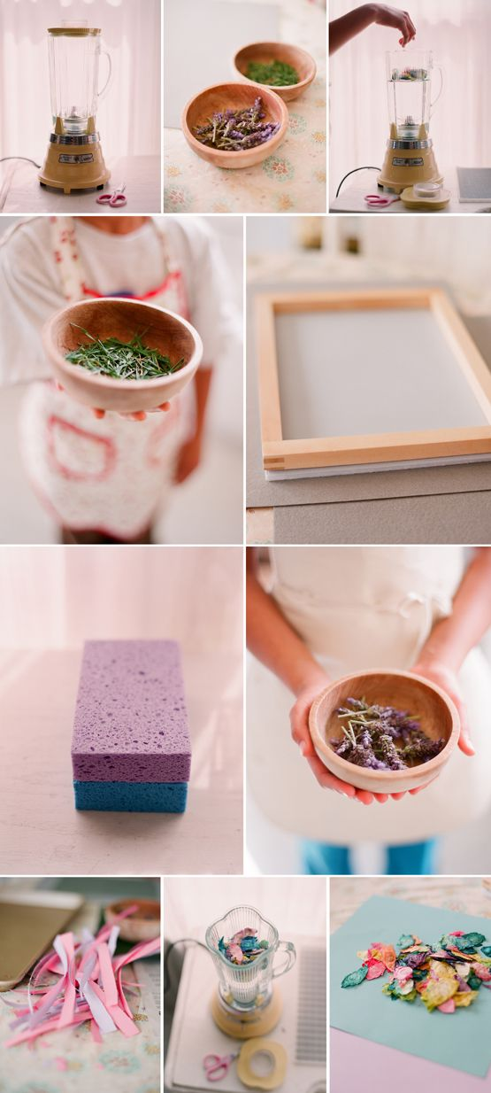 Fun DIY Project for Kids – Make Your Own Paper - Have always wanted to try this!