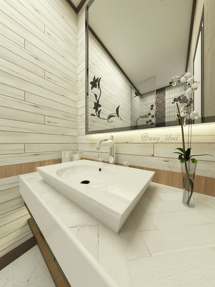 kamar mandi utama interior