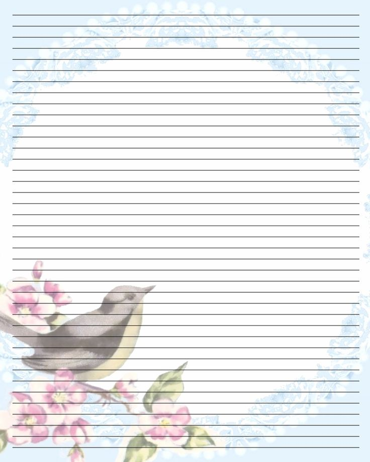 534 best Stationery paper images on Pinterest Printable, Cards - lined pages for writing
