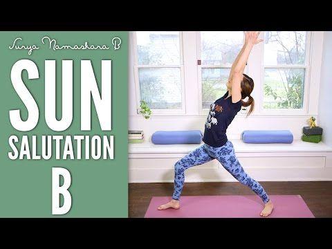 Sun Salutation B (Surya Namaskara B) | Yoga With Adriene