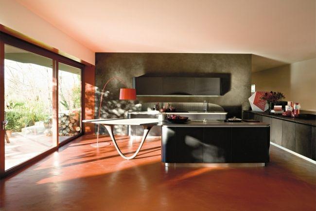 snaidero küchen design kücheninsel grifflos modern | cocinas, Hause ideen