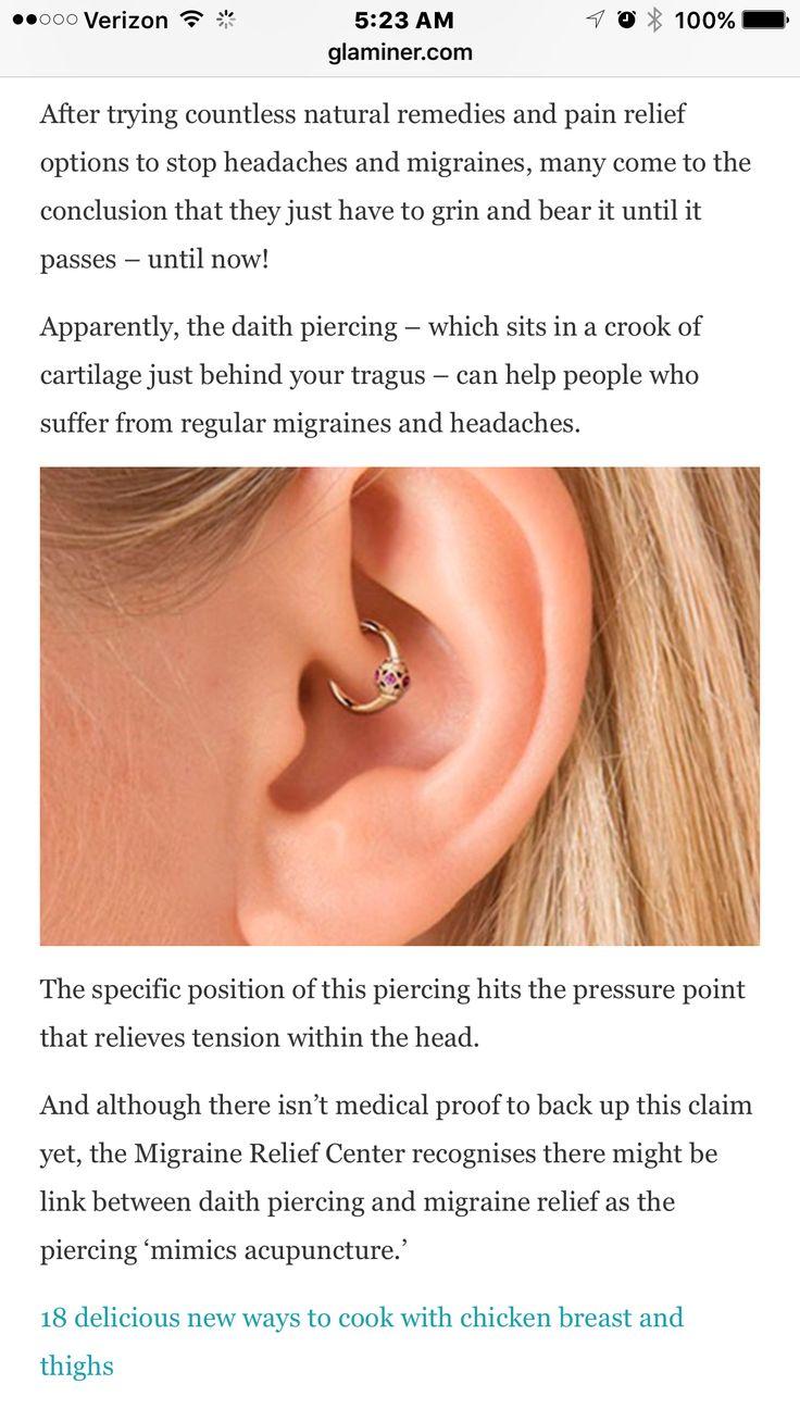 Piercing pain areas  Pinterest u The worldus catalog of ideas