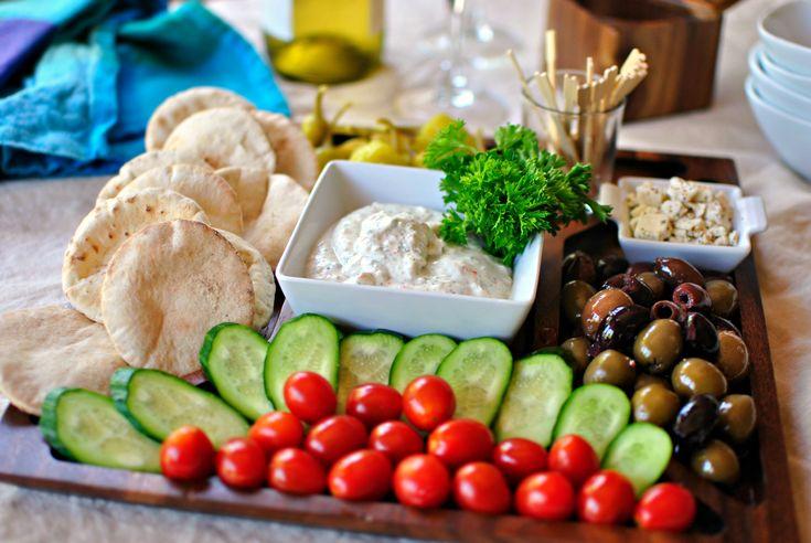 healthy greek appetizer platter - Google Search