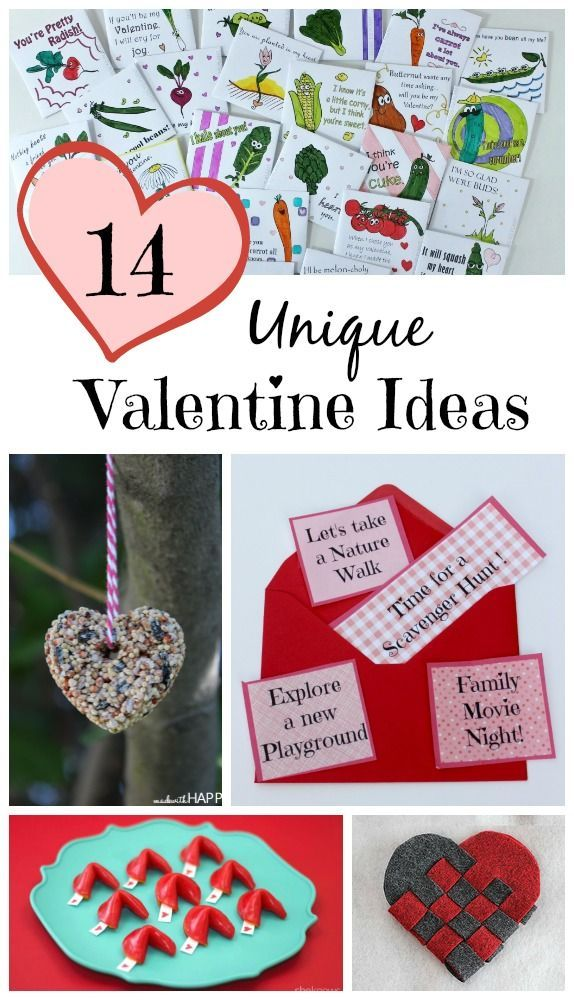 LOVE these unique Valentine's day ideas -- both for kids to give their friends & for parents to give to kids!