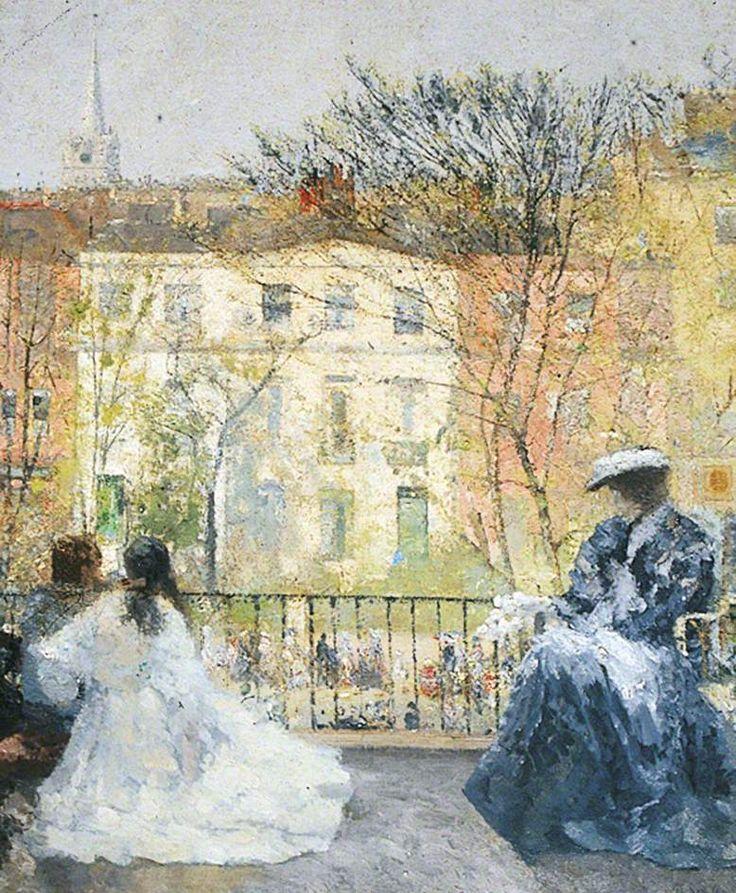 Spring Mood - Georg Sauter 1908 German 1866–1937