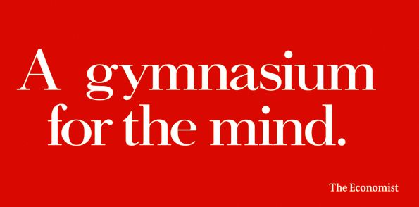 The Economist's ad man: Ad-mirable | The Economist