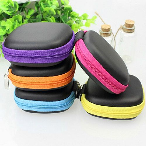 Portable Storage Hard Case Bag Holder For SD TF Card Earphone Headphone Earbuds