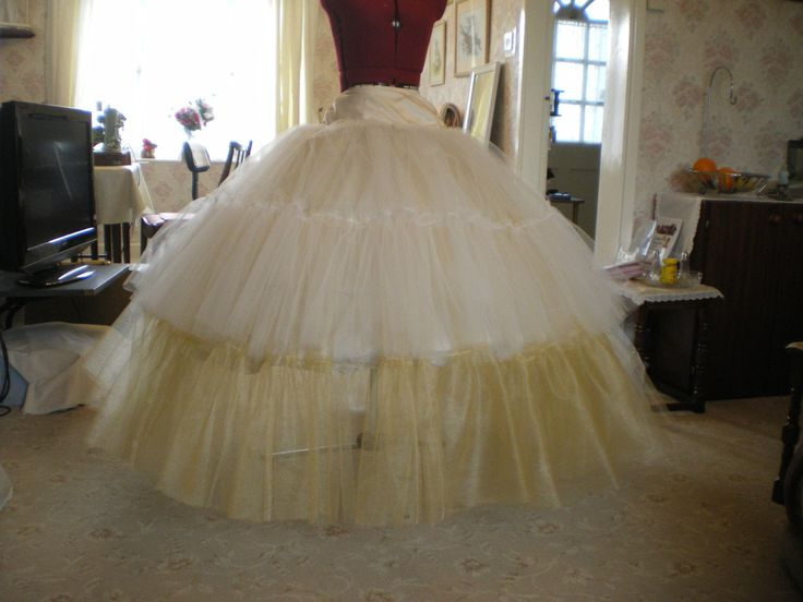 To Make Net Petticoat