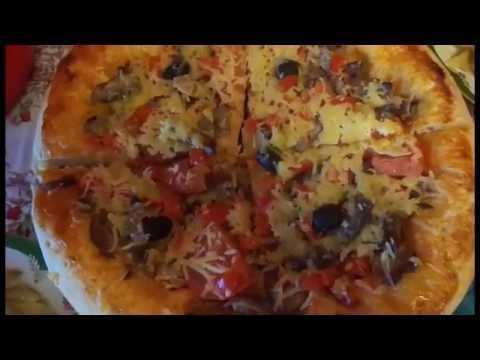 Пицца быстро и вкусно. Домашняя пицца. Быстрый и лёгкий рецепт