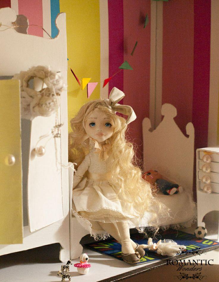''Banny''. Handmade ooak doll by Romantic Wonders