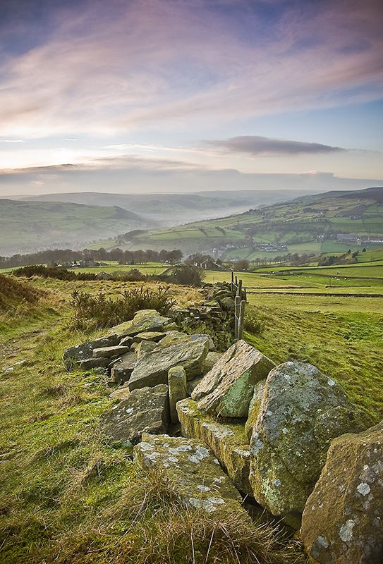 The Calder Valley, Yorkshire