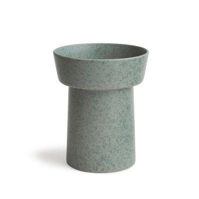 Kahler Ombria Vase Granitt Grønn H200