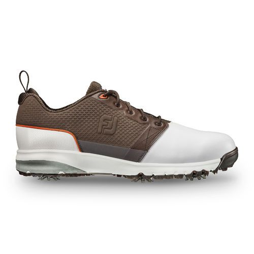 pretty nice 9cf39 b3b76 FootJoy Contour FIT Mens Golf Shoe - WhiteBrown ...