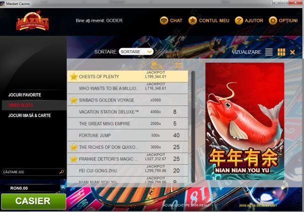 Articole Cazino online pe PariuriX.com: Jocuri de cazino online oferite de Maxbet