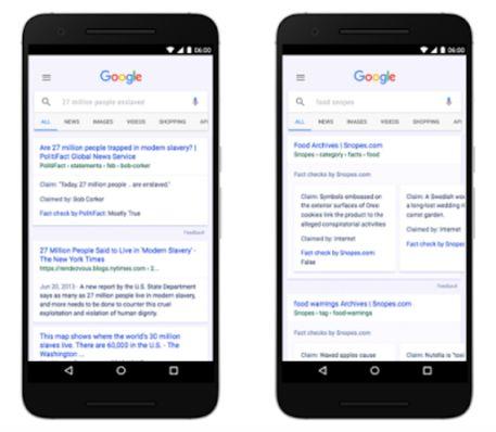 """#3BusinessNews: Google contro le fake news: arriva l'etichetta """"fact check"""" per verificare notizie vere e false. http://www.ansa.it/sito/notizie/tecnologia/internet_social/2017/04/07/google-e-fake-news-etichetta-verifica_fdbf81d6-16f7-4ab0-8634-4b2717f6588f.html"""