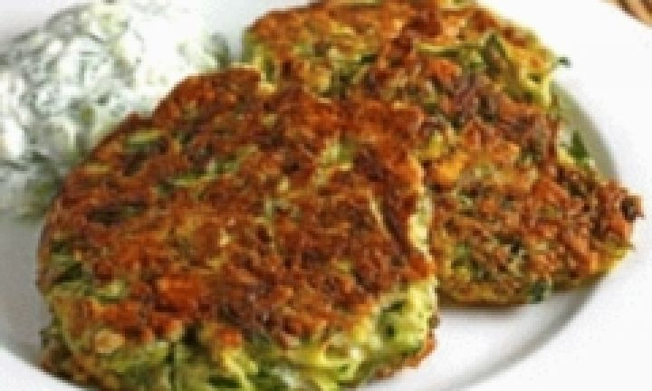 These easy potato and zucchini fritters make twelve large fritters. Freeze any leftover fritters by wrapping them individually in glad wrap so you can reheat them as you need them later.