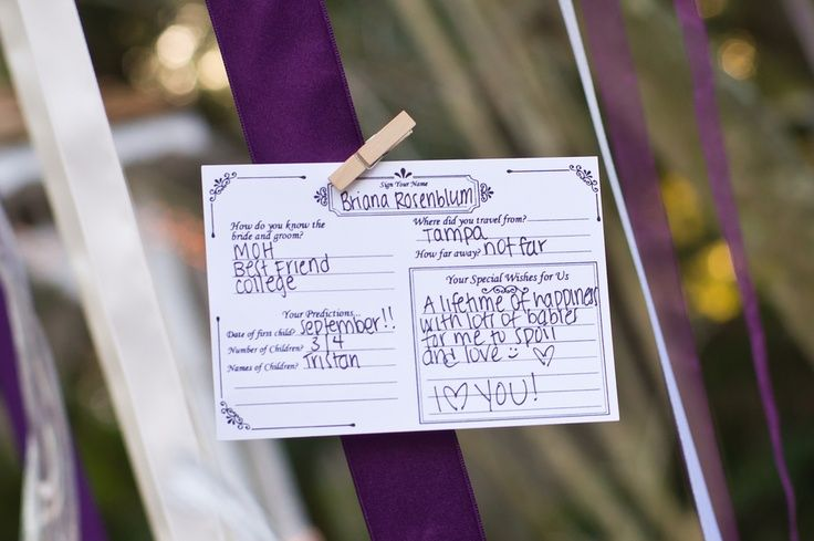 guest cards summer wedding ideas,grey purple summer wedding colors ,grey purple…