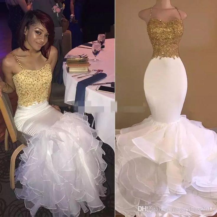 Best 25+ Gold mermaid prom dresses ideas on Pinterest ...