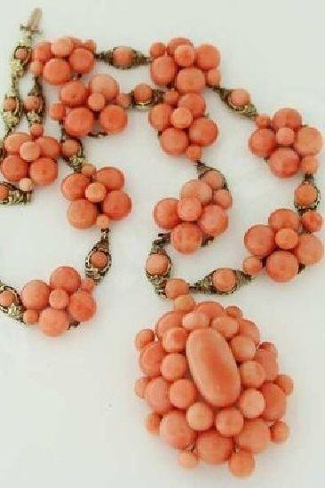Collana di corallo di Sciacca