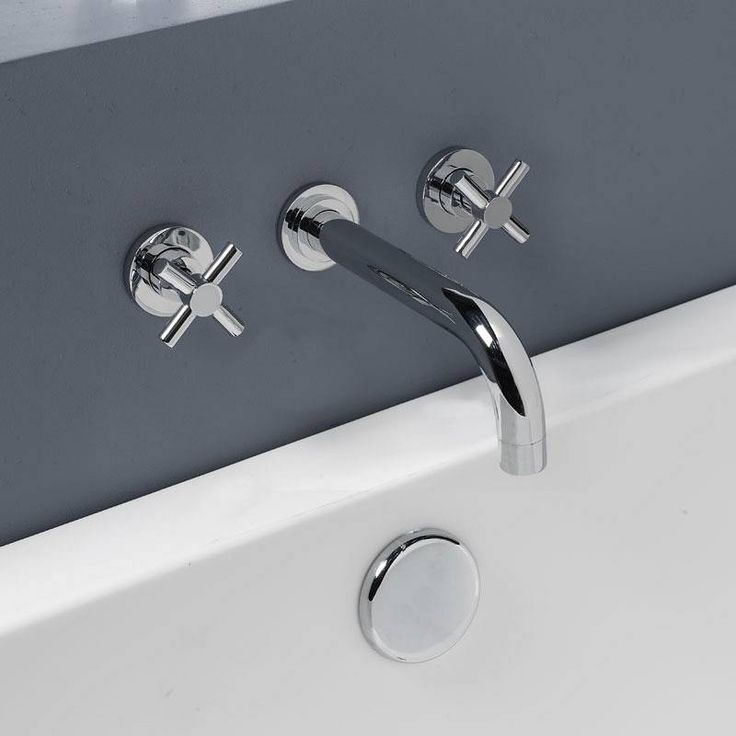 Alexa Wall Mounted Bath Filler now only £59.99 from Victoria Plumb
