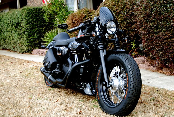 Beastly looking Sportster 48 modification.