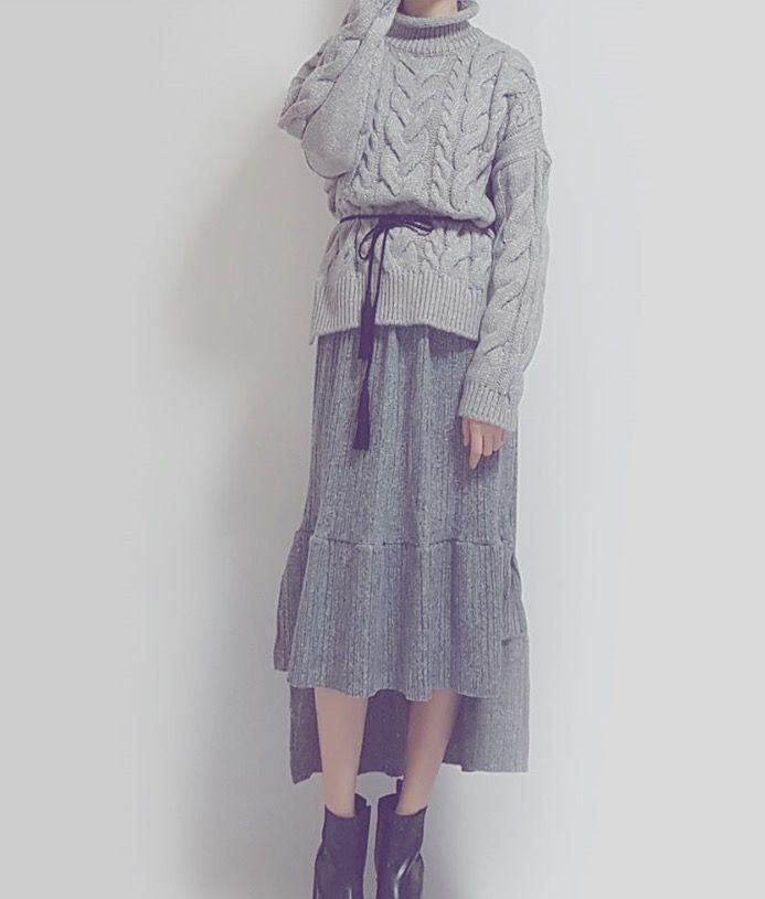 banetd 바냇디 korean shoppingmall naver storefarm  -- 2016fw fashion lookbook / twist knit , unbalance knit-skirt