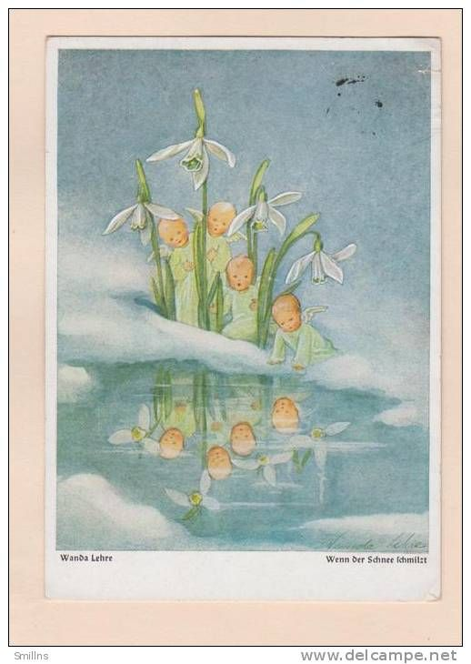 February ~ Snowdrop ~ illustration