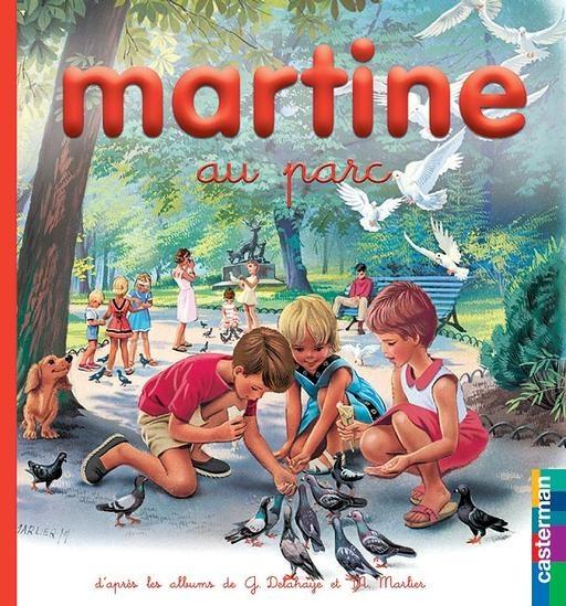 Martine au parc - Gilbert Delahaye, Marcel Marlier - 2203111542 - 9782203111547