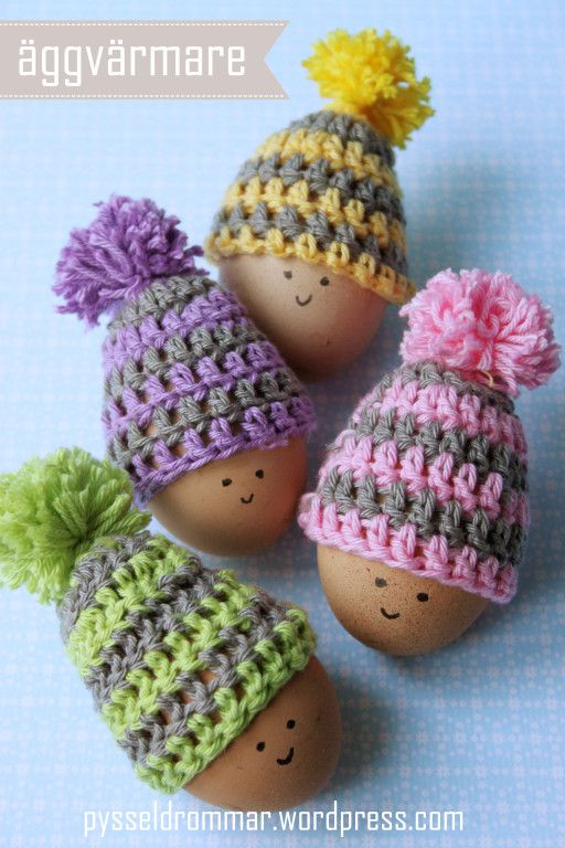 Easter hats, free pattern, 2/16