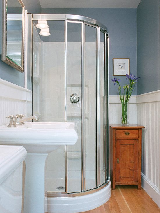 spaces small bathroom corner shower design pictures remodel decor and ideas page