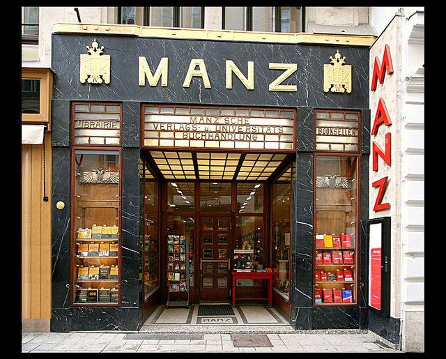 Buchhandlung Manz [1912]- Vienna by RUAMPS ©, via Flickr