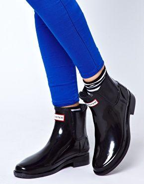 enlarge hunter bradwell rubber chelsea boots clothes i love pinterest hunters. Black Bedroom Furniture Sets. Home Design Ideas